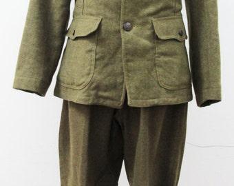 1914 WWI United States Army Soldier Uniform USA Army Vintage Uniform