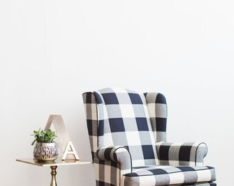 Wingback Chair Etsy