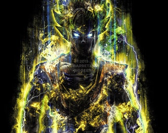 The 150 Million Power Warrior painting art museum quality giclée fine art print