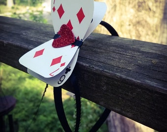 Queen of Hearts - Alice in Wonderland Headband