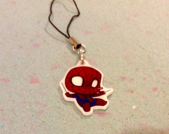 Spider-Man Cellphone Charm/Keychain