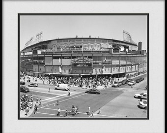 Chicago Cubs Stadium Picture - Wrigley Field Marquee