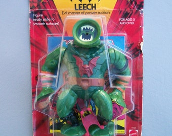 Vintage He-Man Leech (MOC) New in Package Made in Mexico