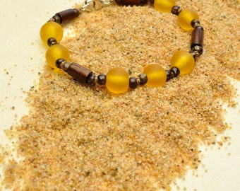 Butterscotch Resin Bracelet