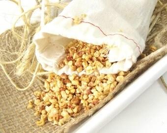 Angel scented Sachet, Lingerie Sachet, Linen Sachet, Natural Air Freshener, Home Fragrance, Drawer Sachet, Car Freshener - 3x5 Muslin Bag