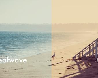Heatwave - Photoshop Action INSTANT DOWNLOAD