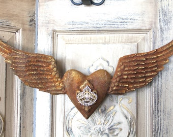 Metal Angel Wings Wall Decor custom angel wings wood and metal wings angel wing wall