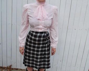 Ladies Kilt, Plaid Skirt
