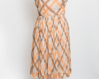 Adorable Plaid Vintage Dress