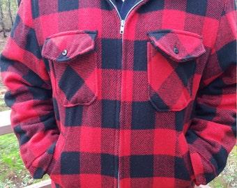 Buffalo Plaid Men's XL Jacket
