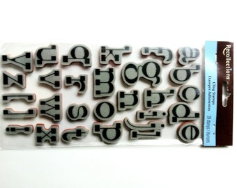 Recollections Cling Stamp - Alphabet 171818