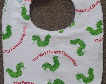 Hungry Caterpillar Bib
