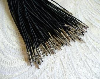 Three Millinery Elastics Black for Hats Fascinators Millinery Supply