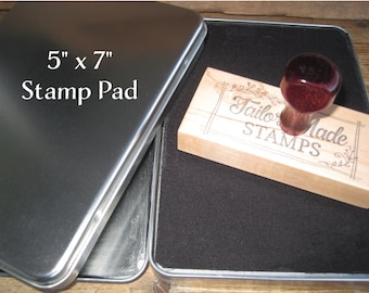 Oversized Stamp Pad, Raised Felt Pad - 5x7