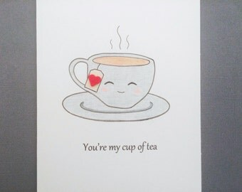 Cup of Tea Love Card