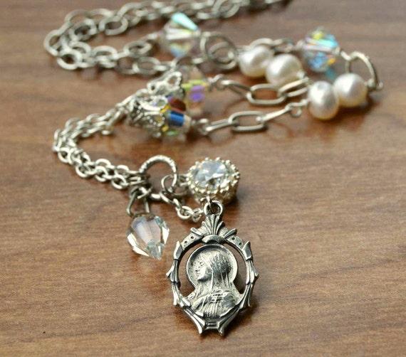 religious catholic jewelry catholic religious necklace