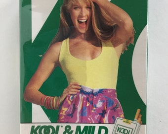 1980's Kool Cigarettes Playing Cards Kool & Mild Today- Sealed
