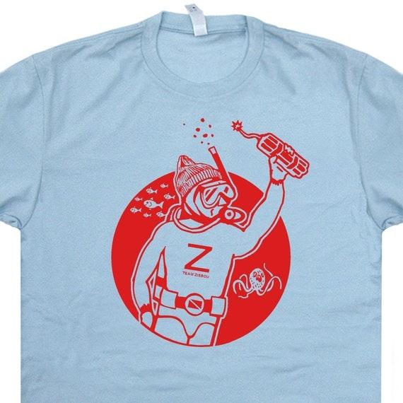 Team Zissou T Shirt The Life Aquatic T Shirt Scuba by ...