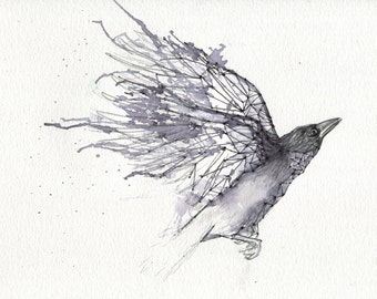 Ascending - ART PRINT 8 x 10   Watercolor by Ruth Oosterman