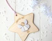 Personalised Fairy Christmas Tree Decoration