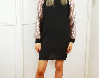 All That Glitters Sequin Dress