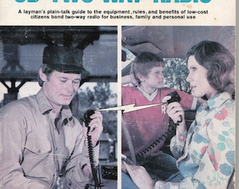 Vintage All About CB Two-Way Radio Radio Shack 1976