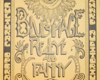 Fanny 'Godmothers of Chick Rock' 1971 Jim Salzer's Concert Poster