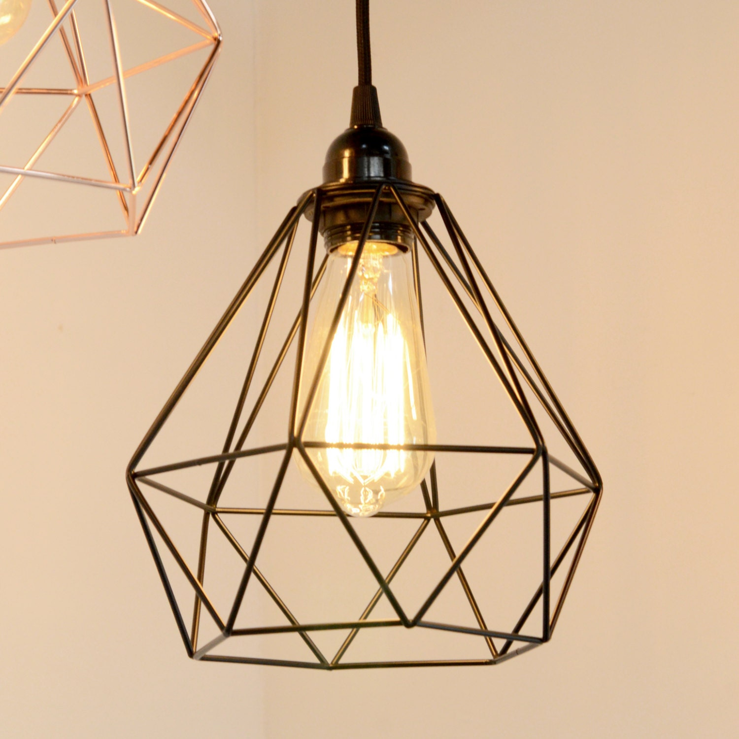 Industrial Cage Lights