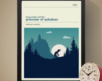 Harry Potter and the Prisoner of Azkaban Movie Poster - Movie Poster, Movie Print, Film Poster, Harry Potter Poster