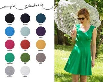 "V-Neck Summerdress ""Clara Comfy"" made of jersey"