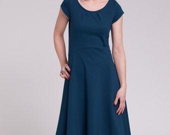 Ponte handmade dress Sophie