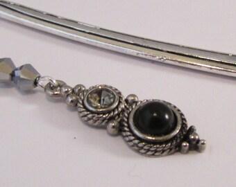 Understated Elegance Jeweled Beaded Bookmark  (JB183)