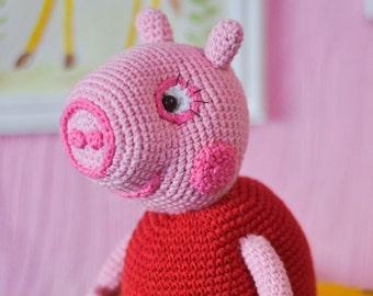 Peppa Pig crochet pattern