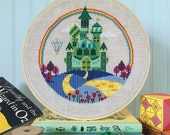 The Emerald City - Wizard of Oz cross stitch pattern PDF - Instant download