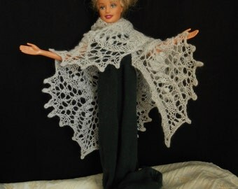 Made to Order: Estonian Lace Doll Shawl  doll shawl