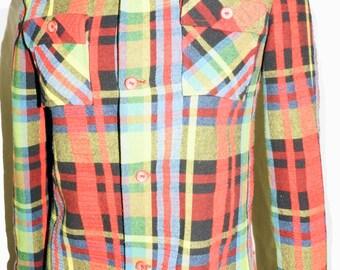 1960s Pant Suit Womens Sz 10 Vintage Retro Bellbottom Hippie