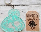 Breastfeeding Key Chain - FREE s/h- Normalize Breastfeeding, breast is best, breastfeeding is love, mind your own tits, baby shower gift