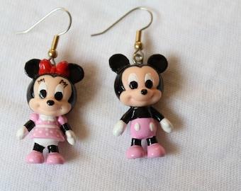 Earrings, Baby Minnie & Mickey