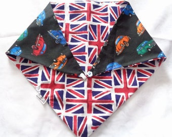 Bespoke handmade Dog bandanas. Lots of fabric choices. And four sizes to choose from. Your Dog will look amazing in these.
