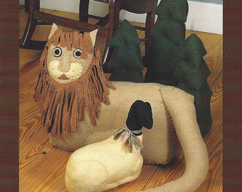 Indygo Junction Inc - Peace To All - Lion Lamb Trees - Sewing Pattern - Designer Cathy Pendleton