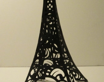 Eiffel Tower Cake Topper or Decoration- Birthdays, Weddings, Baby Showers -3d in several sizes