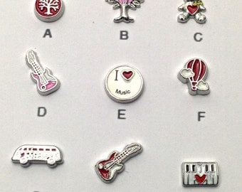 1 Floating charm of your choice #MIN CH 019