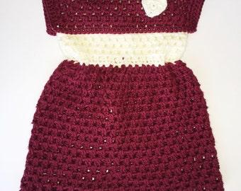 Girl's Crochet Dress