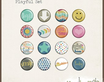 Flairs - Playful INSTANT DOWNLOAD