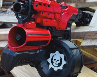 Red Fury - Custom Nerf Demolisher