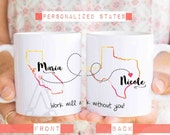 """Gift for coworker """"work will suck without you"""" coffee mug, personalized goodbye gift for coworker, going away gift for coworker MU278"""