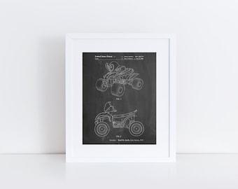 Kids 4-Wheeler Poster, Kids 4-Wheeler Patent, Kids 4-Wheeler Print, Kids 4-Wheeler Art, Kids 4-Wheeler Decor, Kids 4-Wheeler Wall, PP0908