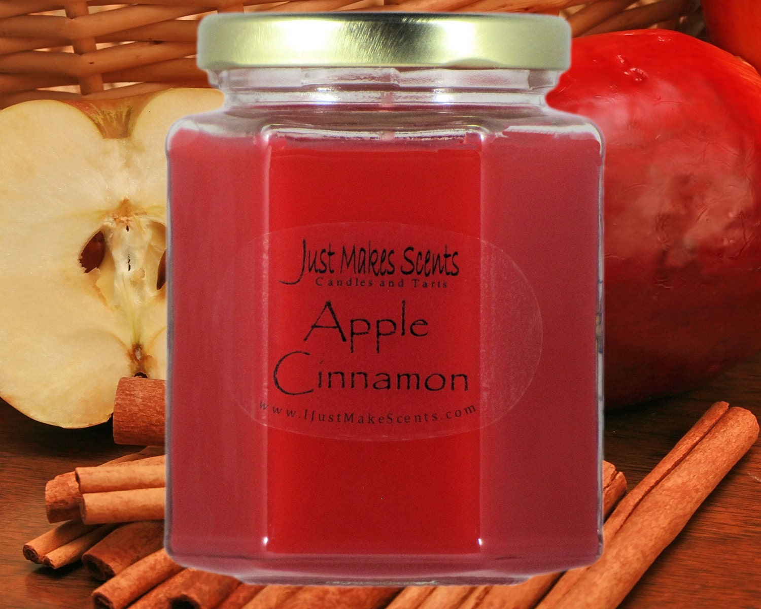 Apple Cinnamon Scented Candle Free Shipping Offer On Orders