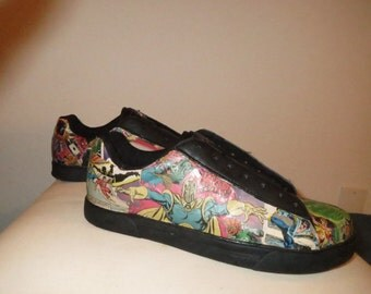 Custom Hand Decorated Shoes