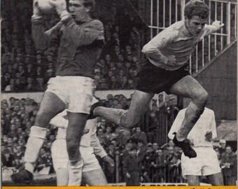 Vintage Football (soccer) Programme - Watford v Barnsley, 1968/69 season